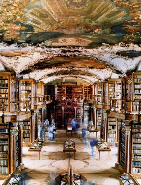 Abbey Library Switzerland